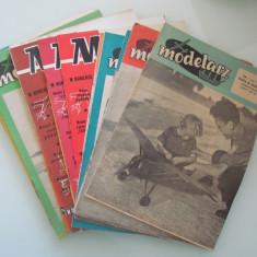 LOT 15 POLAND ORIGINAL PAPER MODELS & KITS MODELARZ 1955 - 1959 RARE !! - Macheta Navala Matchbox, 1:72