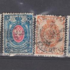 Rusia lot timbre stampilate de la 1875 lot (11A), Regi