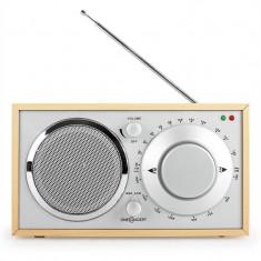 Radio Bucătărie OneConcept 1960 Stil Retro - Lemn stejar - Aparat radio