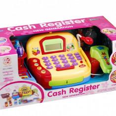 Casa de marcat de jucarie, cu microfon, scanner si multe accesorii - Cel mai frumos cadou pentru copii! - Jocuri arta si creatie