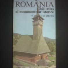 VASILE CUCU * M. STEFAN - ROMANIA * GHID-ATLAS AL MONUMENTELOR ISTORICE - Ghid de calatorie