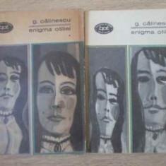 Enigma Otiliei Vol.1-2 - George Calinescu, 392777 - Roman