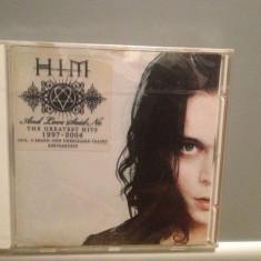HIM - THE GREATEST HITS 1997-2004 (2004/BMG REC) - CD Original/Sigilat/Nou - Muzica Rock rca records