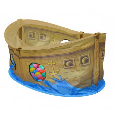 Barcuta cu 50 bile Skipper - Casuta/Cort copii