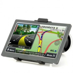 Sistem de navigatie GPS 7 Inch - 800x480 Touch Screen, Bluetooth, Transmitator FM