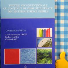 Textile neconventionale cu continut de fibre recuperate Constantin Preda