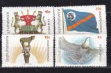 Bophuthatswana   1977  independenta  fauna   MI  18-21    MNH w40, Nestampilat