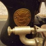 Masina de cusut veche PFAFF cu coarba