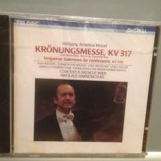 MOZART - MISSA/VESPERAE SOLENNES (1987/WARNER/Germany) - CD Original/Sigilat/Nou - Muzica Clasica