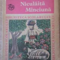 Niculaita Minciuna - I.al. Bratescu-voinesti, 392774 - Carte Basme