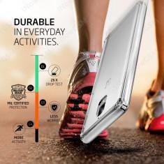 Husa silicon Ultra Hybrid Crystal Clear Spigen OnePlus 3 3T K03CS20616 - Husa Telefon OnePlus, Gri