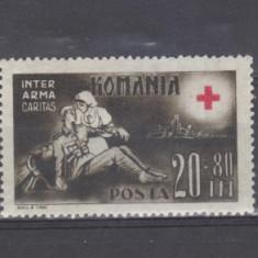 Romania 1943 Crucea rosie MNH - Timbre Romania, Regi, Nestampilat