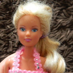 Papusa tip Barbie, papusa pentru fetite, Steffi Love originala, 31 cm, 4-6 ani, Plastic, Fata