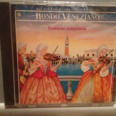 RONDO VENEZIANO - FANTASIA VENEZIANA (1986/ARIOLA/RFG) - CD ORIGINAL/Sigilat/Nou - Muzica Clasica