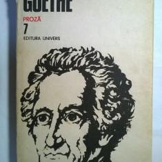 Goethe - Opere 7 - Roman