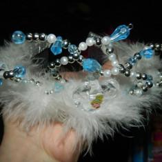Coronita printesa, tiara Disney Cenusareasa, calitate! Coronita cu piaptan, M6 - Bentita