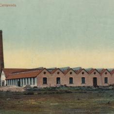 SALUTARI DIN CERNAVODA FABRICA METALURGICA CIRCULATA 1913 - Carte Postala Dobrogea 1904-1918, Printata