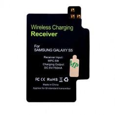 Receptor Sticker Pentru Incarcare Qi Wireless Samsung Galaxy S5 G900 - Incarcator telefon Samsung