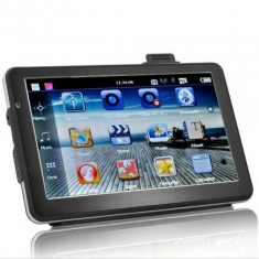 Sistem de navigatie SatNav Auto cu DVR 7 Inch - Touch Screen, 2 X Card Micro SD 4GB