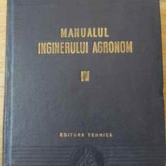 Manualul Inginerului Agronom Vol.4 Zootehnie - Colectiv, 392768 - Carti Agronomie