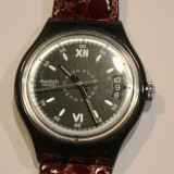 CEAS DE DAMA SWATCH-AUTOMATIC - Ceas dama Swatch, Casual, Mecanic-Automatic, Piele, Data, Analog