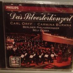 CARL ORFF - CARMINA BURANA (1989/PHILIPS/West Germany) - CD ORIGINAL/Sigilat/Nou - Muzica Clasica universal records