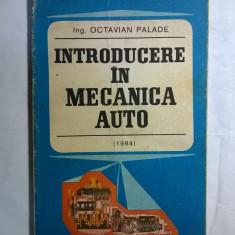 Octavian Palade - Introducere in mecanica auto {1984}