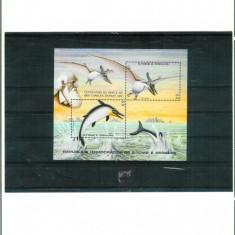 SAO TOME & PRINCIPE - FAUNA PREISTORICA - CHARLES DARWIN - Timbre straine, Nestampilat