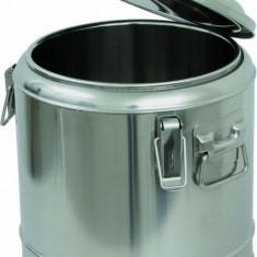 Marmita transportat mancare din inox, 6 litri
