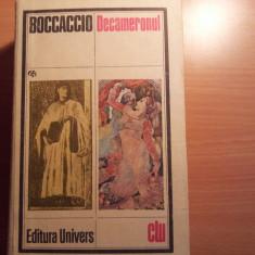 Boccaccio Decameronul - Roman istoric