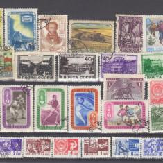 Rusia de la 1932 Lot 29 timbre stampilate, Oameni