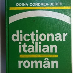 Doina Condrea-Derer – Dictionar italian-roman - Carte in italiana