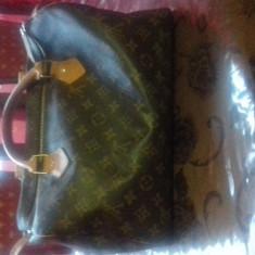 Poşetă Louis Vuitton de piele originala - Geanta Dama Louis Vuitton, Culoare: Maro, Marime: Medie