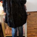 Haina / palton blana naturala