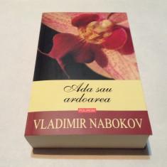 Ada sau ardoarea O cronica de familie Vladimir Nabokov,RF10/4