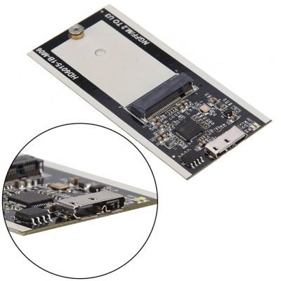 Adaptor B Key M.2 NGFF SSD la micro USB 3.0 foto