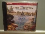 VIVALDI - THE FOUR SEASONS (1990/PHILIPS Rec/Germany) - CD Original/Sigilat/Nou