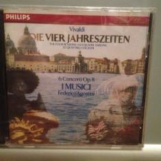 VIVALDI - THE FOUR SEASONS (1990/PHILIPS Rec/Germany) - CD Original/Sigilat/Nou, universal records
