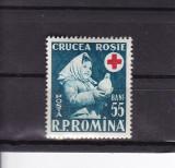 ROMANIA 1957  LP 438   SAPTAMANA  CRUCII  ROSII  MNH, Nestampilat