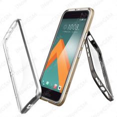Husa TPU policarbonat Hybrid Neo Gold Spigen HTC 10 H09CS20286 - Husa Telefon SPIGEN, Transparent