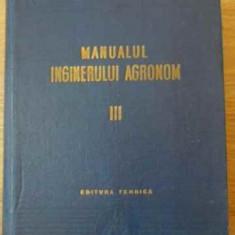 Manualul Inginerului Agronom Vol. Iii (3) Zootehnia - Colectiv, 392767 - Carti Agronomie