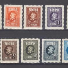 Romania 1926 Aniversarea Ferdinand serie nestampilata - Timbre Romania, Regi