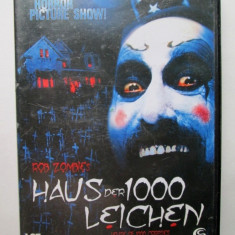 DVD original, Horror 18+ : House of 1000 corpses / Regizor Rob Zombie - Film Colectie lionsgate, Altele