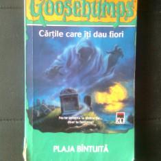 R.L. Stine - Goosebumps - Plaja bintuita (Editura RAO, 2006) - Carte Horror