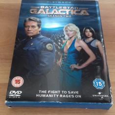 BATTLESTAR GALACTICA - 20 ep - DVD [A, B] - Film serial, SF, Engleza