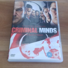 Criminal minds - The second season - 23 ep - DVD [B, C] - Film serial, Politist, Engleza
