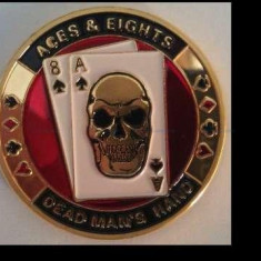 Jeton de garda poker, Aces& Eights Dead man's hand