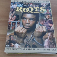 ROOTS - 25th Anniversary edition - 6 ep - DVD [A, B, C] - Film serial, Drama, Engleza