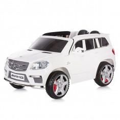 Masinuta electrica Chipolino SUV Mercedes Benz GL63 AMG White - Masinuta electrica copii