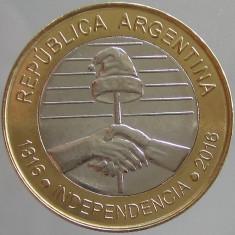 ARGENTINA KM#NEW - 2 Pesos 2016 UNC